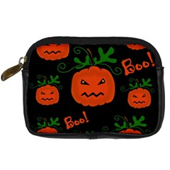 Halloween pumpkin pattern Digital Camera Cases