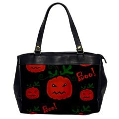 Halloween pumpkin pattern Office Handbags