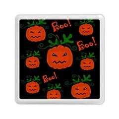 Halloween pumpkin pattern Memory Card Reader (Square)
