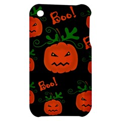 Halloween pumpkin pattern Apple iPhone 3G/3GS Hardshell Case