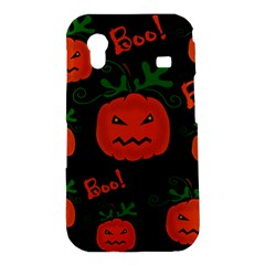 Halloween pumpkin pattern Samsung Galaxy Ace S5830 Hardshell Case