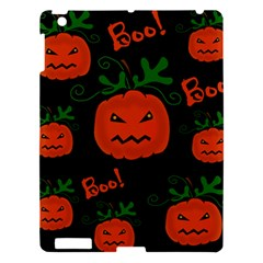 Halloween pumpkin pattern Apple iPad 3/4 Hardshell Case