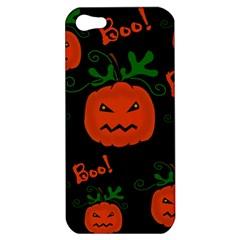 Halloween pumpkin pattern Apple iPhone 5 Hardshell Case