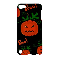 Halloween pumpkin pattern Apple iPod Touch 5 Hardshell Case