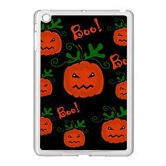 Halloween pumpkin pattern Apple iPad Mini Case (White)