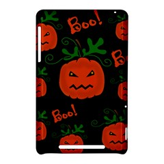Halloween pumpkin pattern Nexus 7 (2012)