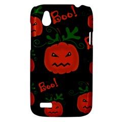 Halloween pumpkin pattern HTC Desire V (T328W) Hardshell Case