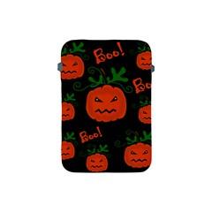 Halloween pumpkin pattern Apple iPad Mini Protective Soft Cases