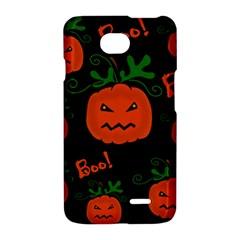 Halloween pumpkin pattern LG Optimus L70