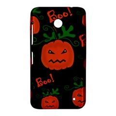 Halloween pumpkin pattern Nokia Lumia 630