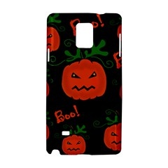 Halloween pumpkin pattern Samsung Galaxy Note 4 Hardshell Case