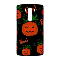 Halloween pumpkin pattern LG G3 Back Case