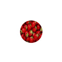 Red Fruits 1  Mini Buttons