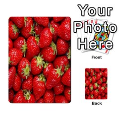 Red Fruits Multi Purpose Cards (rectangle)