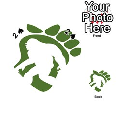 Sasquatch Playing Cards 54 (heart)