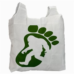 Sasquatch Recycle Bag (two Side)