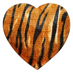 Tiger Jigsaw Puzzle (heart)