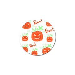 Halloween pumpkins pattern Golf Ball Marker (10 pack)