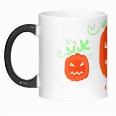 Halloween pumpkins pattern Morph Mugs