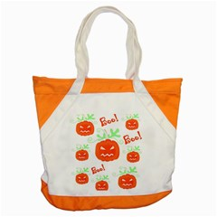 Halloween pumpkins pattern Accent Tote Bag