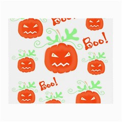 Halloween pumpkins pattern Small Glasses Cloth (2-Side)