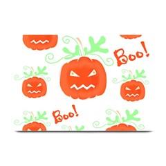 Halloween pumpkins pattern Plate Mats