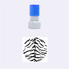 Tiger Skin Rubber Round Stamps (small)