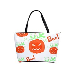Halloween pumpkins pattern Shoulder Handbags