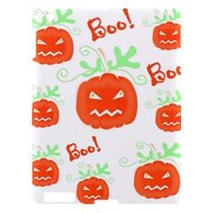 Halloween pumpkins pattern Apple iPad 3/4 Hardshell Case