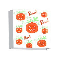 Halloween pumpkins pattern 4 x 4  Acrylic Photo Blocks