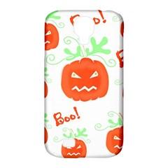 Halloween pumpkins pattern Samsung Galaxy S4 Classic Hardshell Case (PC+Silicone)