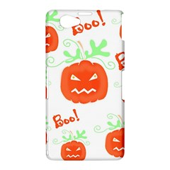 Halloween pumpkins pattern Sony Xperia Z1 Compact