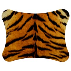 Tiger Skin Jigsaw Puzzle Photo Stand (Bow)