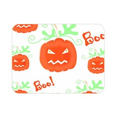Halloween pumpkins pattern Double Sided Flano Blanket (Mini)