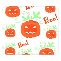 Halloween pumpkins pattern Double Sided Flano Blanket (Small)