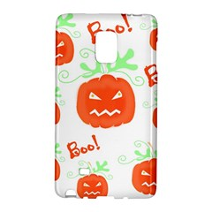 Halloween pumpkins pattern Galaxy Note Edge