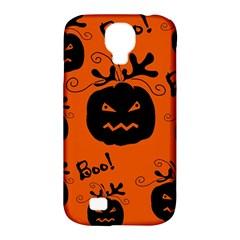 Halloween black pumpkins pattern Samsung Galaxy S4 Classic Hardshell Case (PC+Silicone)