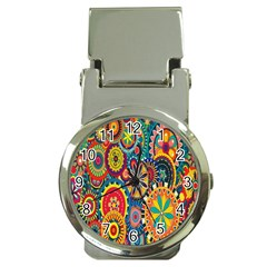 Tumblr Static Colorful Money Clip Watches