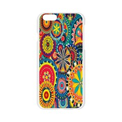 Tumblr Static Colorful Apple Seamless iPhone 6/6S Case (Transparent)