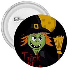Halloween witch 3  Buttons