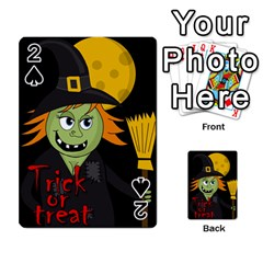 Halloween witch Playing Cards 54 Designs