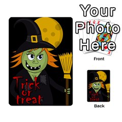 Halloween witch Multi-purpose Cards (Rectangle)