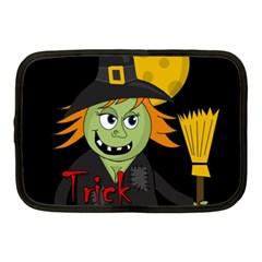 Halloween witch Netbook Case (Medium)