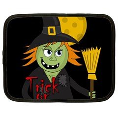 Halloween witch Netbook Case (Large)