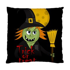 Halloween witch Standard Cushion Case (One Side)