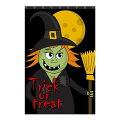 Halloween witch Shower Curtain 48  x 72  (Small)