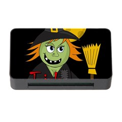 Halloween witch Memory Card Reader with CF