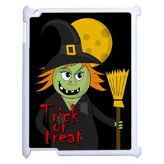 Halloween witch Apple iPad 2 Case (White)