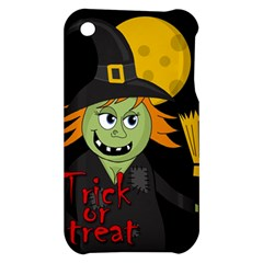 Halloween witch Apple iPhone 3G/3GS Hardshell Case