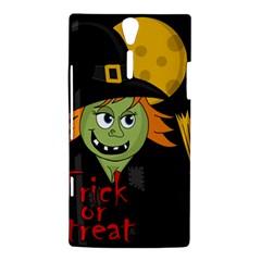 Halloween witch Sony Xperia S